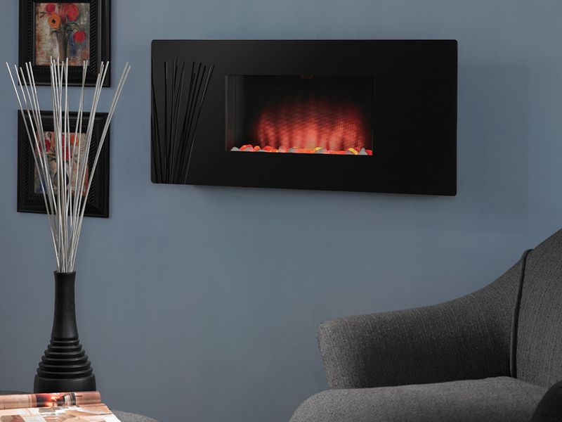 Electric Fireplace In Ikea On Custom Fireplace Quality