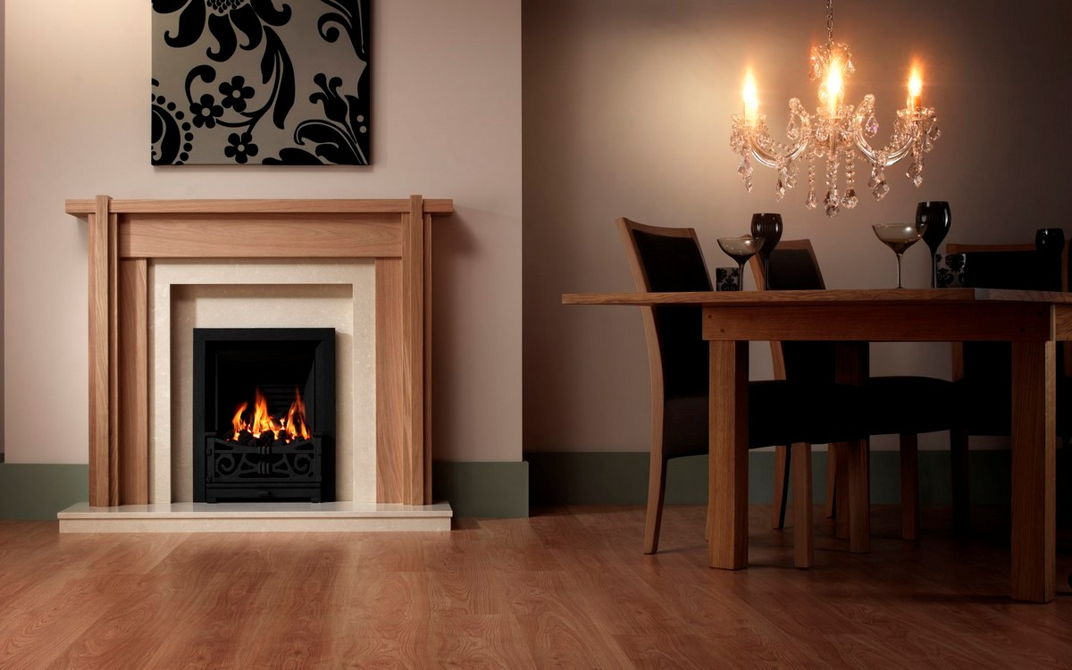 Electric Fireplace Mantels With Tv Above Viewing Gallery